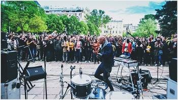 Gatvės muzikos diena Kijeve išaugo trigubai