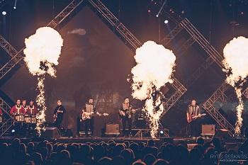 """""""Colours of Bubbles"""" išvyko į didžiausią Baltarusijos festivalį"""