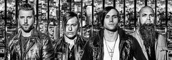 """Sausį Rygoje įvyks vienintelis Baltijos šalyse grupės """"Three Days Grace"""" koncertas"""