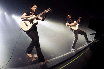 """Pirmą kartą Lietuvoje koncertuos akustinės gitaros virtuozai """"Rodrigo y Gabriela"""""""