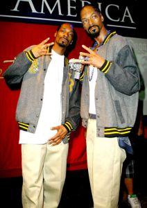 Las Vegase atidengta vaškinė Snoop Dogg'o figūra