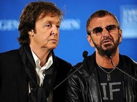 Bendrame B. Dylan'o ir P. McCartney projekte būgnais gros Ringo Starr'as?