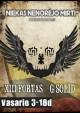 """Susivienijusios grupės """"XIII Fortas"""" ir """"G. Solid"""" kviečia į koncertinį turą """"Niekas nenorėjo mirti"""""""