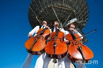 """Latvijos violončelininkai """"Melo-M"""" pavasarį pasitinka su nauja programa ir pasikeitusia grupės sudėtimi"""
