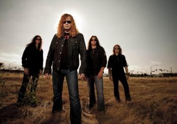 """""""Megadeth"""" lyderis ir šiandien pasikandžioja su buvusiais kolegomis iš """"Metallicos"""""""