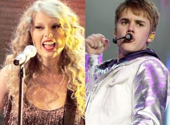 Kovoje dėl geriausiai uždirbančios jaunos įžymybės titulo J. Bieber'is pralaimėjo kantri žvaigždutei Taylor Swift (+ TOP 10)