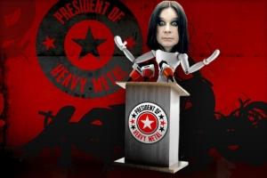Amerikiečiai prezidentu išsirinko Barack'ą Obamą, o sunkiosios muzikos mėgėjai - Ozzy Osbourne'ą