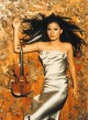 Vanessa Mae į koncertą Vilniuje atsiveš brangiuosius savo instrumentus
