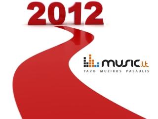 2012 m. dienos dainos rinkimai: balsuokite už geriausią gruodžio mėnesio dainą!