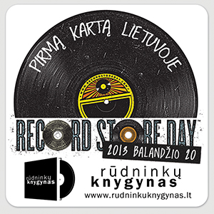 Muzikos įrašų parduotuvių diena šeštadienį pirmą kartą bus minima ir Lietuvoje