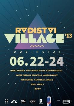 """""""Radistai"""" per Jonines rengia elektroninės muzikos festivalį Dubingiuose"""