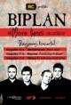 """Baigiamieji """"Biplan"""" akustinio turo koncertai – Marijampolėje, Kaune ir Vilniuje"""