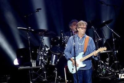 Į Vilnių atvyko britų dainininkas Ericas Claptonas
