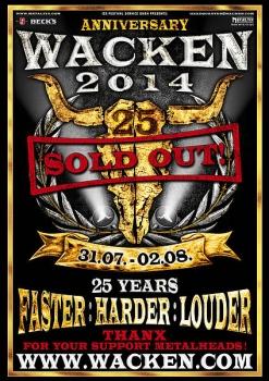 """""""Wacken Open Air 2014"""": kas taps pagrindinėmis žvaigždėmis kitąmet?"""