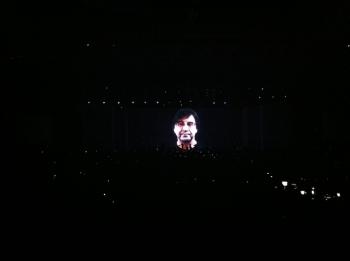 60-ies metrų ekranas, tonos šviesų ir garso aparatūros – visa tai vieninteliame DDT koncerte Kaune