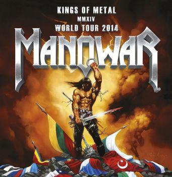 """Gineso knygos rekordininkai - metalo karaliai """"Manowar"""" saliutuoja Lietuvai (+ video)"""
