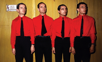 "Pristatoma pirma festivalio ""Positivus"" grupė - ""Kraftwerk"""