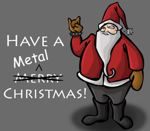 Linksmų metalinių Kalėdų! Praleiskime šventes su 10 kalėdinių dainų, kurios neužknisa (+ balsavimas)