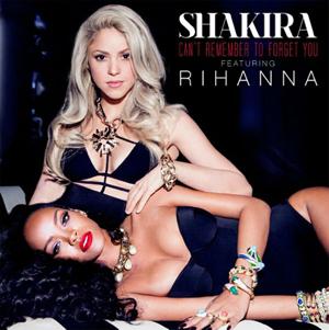 Vasarišką kūrinį su Rihanna įrašiusi Shakira apie kolegę: