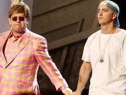 Naujame Eminem'o albume - ir Elton'as John'as?