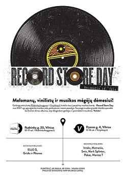 """Pasaulinės muzikos įrašų parduotuvių dienos ambasadorius – grupės """"Public Enemy"""" įkūrėjas"""