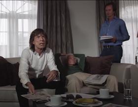 Mick Jagger apie
