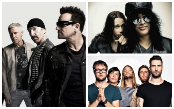 Žymiausių rugsėjo mėnesio albumų apžvalga: viršūnėje - U2, Slash ir  Maroon 5 įrašai (+ TOP)