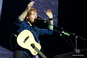 RENGINIO RECENZIJA | Edas Sheeranas Vilniuje: Lietuvai reikia tokių koncertų (+ FOTO GALERIJA)